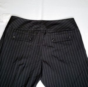 CAbi Pants - New Cabi Pinstripe Trouser Pants Wide Leg Women's